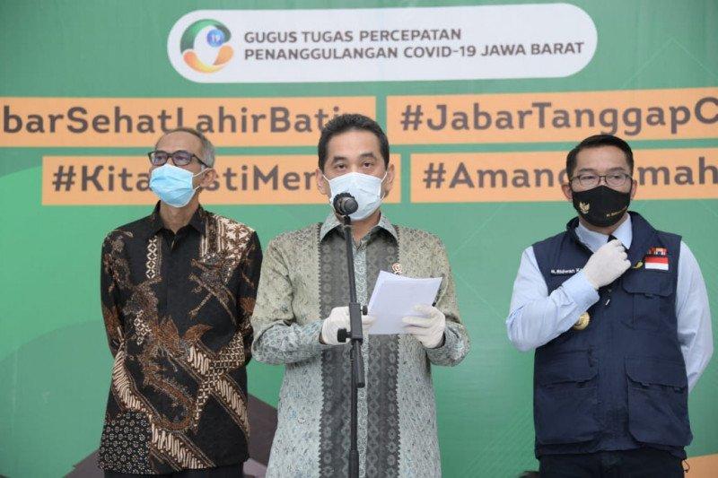 Gubernur Ridwan Kamil usul tes masif COVID-19 di pasar tradisional