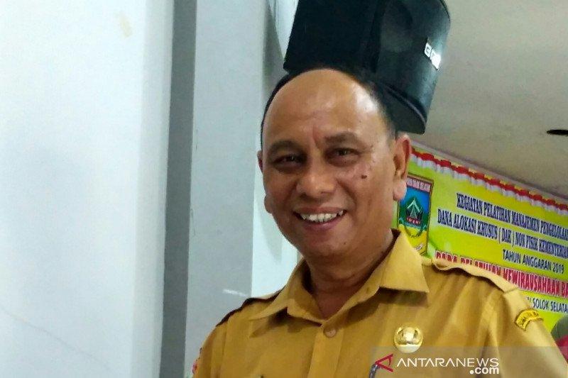 Pasar Sungai Kalu ditutup dua minggu pasca-tiga warga Solok Selatan positif COVID-19