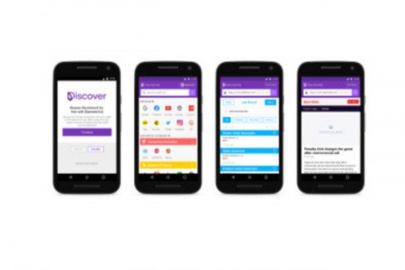 Aplikasi Facebook Discover tawarkan internet gratis