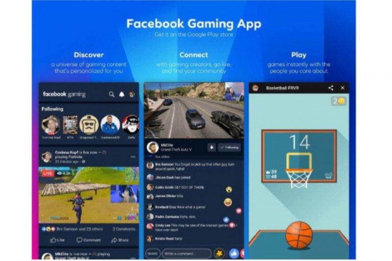 Facebook Gaming rilis fitur Turnamen