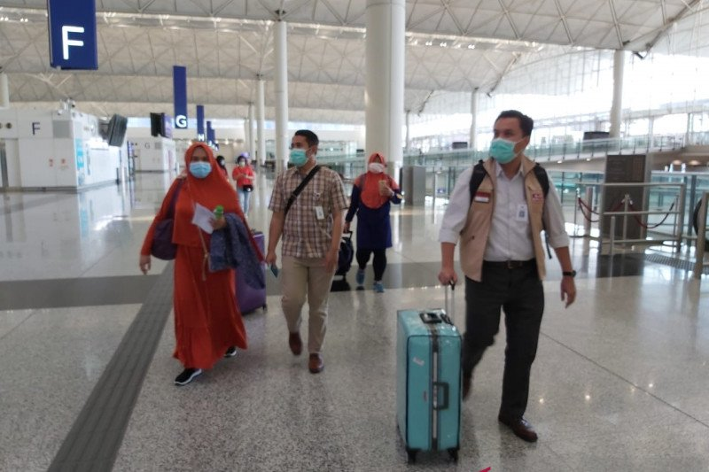 Pekerja migran asal Subang pulang setelah  hilang di Hong Kong