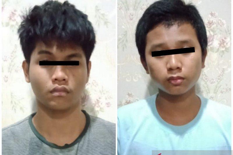 Tekab 308 Polresta Bandar Lampung tangkap dua bajing loncat