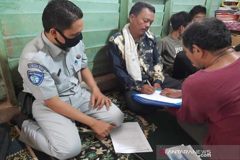 Jasa Raharja Riau serahkan santunan lakalantas pada Erwinson Siburian Rp50 juta