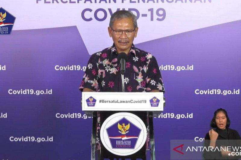 Yurianto: Pasien sembuh bertambah 113 orang, meninggal 16 orang