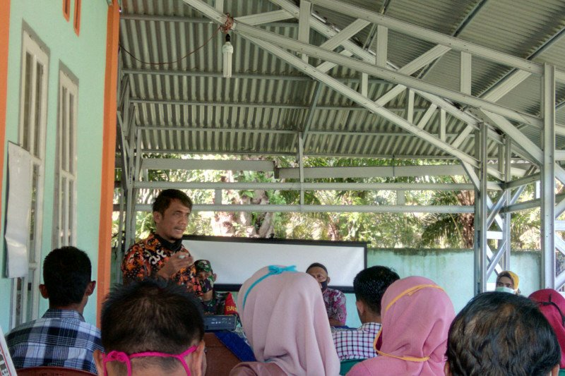 Nagari Lansano Taratak langsung validasi penerima BLT dana desa (Video)