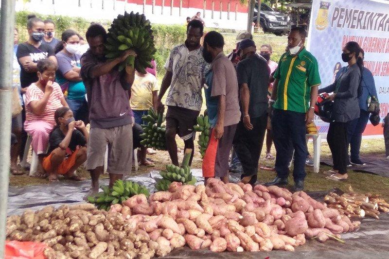 Ketersediaan pangan lokal Papua di tengah pandemi COVID-19