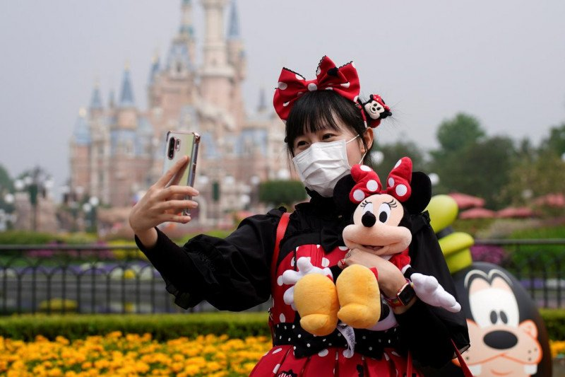 Disneyland Shanghai resmi dibuka