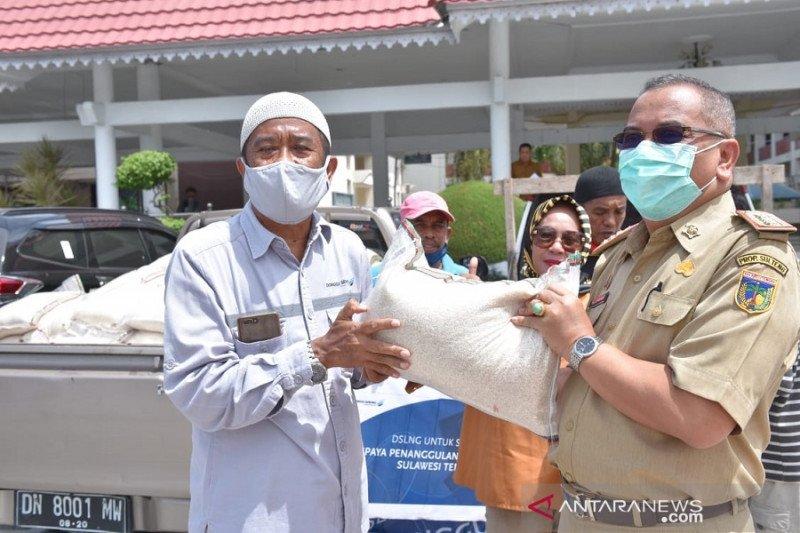 DSLNG sumbang 2,5 ton beras untuk warga terdampak COVID-19