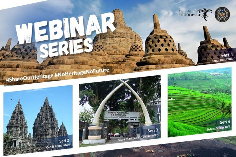 Pecinta wisata budaya diajak mengenali 5 situs warisan dunia di Indonesia