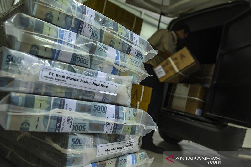 Penyediaan uang tunai jelang lebaran di Kalteng berkurang 23 persen