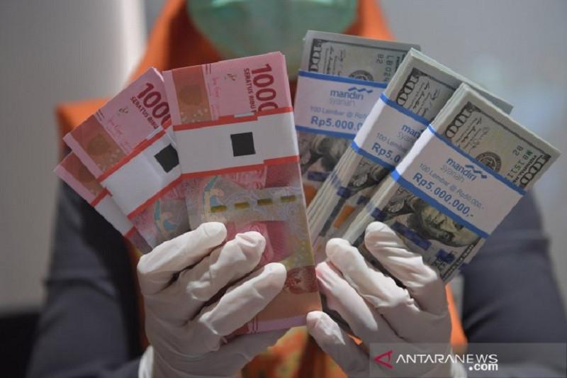 Nilai kurs Rupiah pagi ini menguat 13 poin
