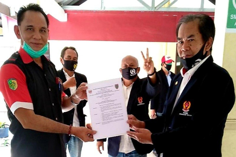 KONI Palangka Raya terima SK kepengurusan periode 2019-2023