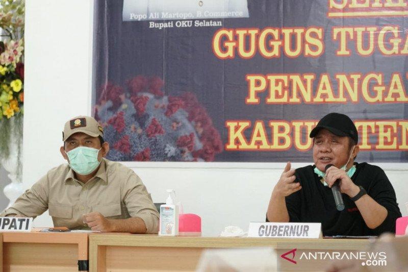Sumsel siap bantu jaring pengaman sosial Kota Palembang dan Prabumulih yang akan terapkan PSBB