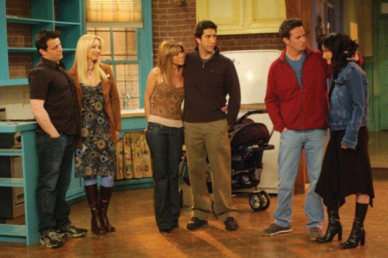 """Serial reuni """"Friends"""" ditunda"""