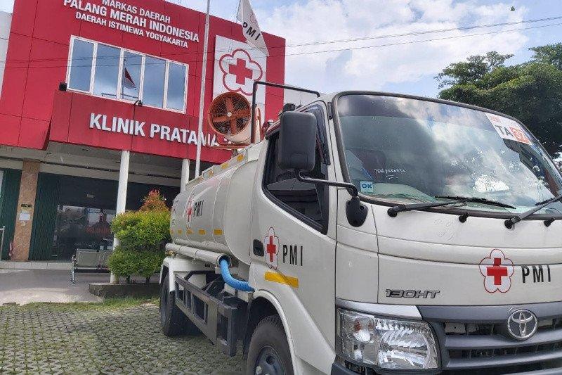 PMI DIY segera mengoperasikan truk gunner spray cegah COVID-19