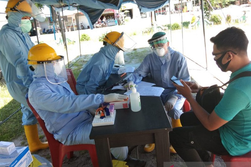 Satu pasien positif COVID-19 dirawat di RSUD Palangka Raya di Kalampangan