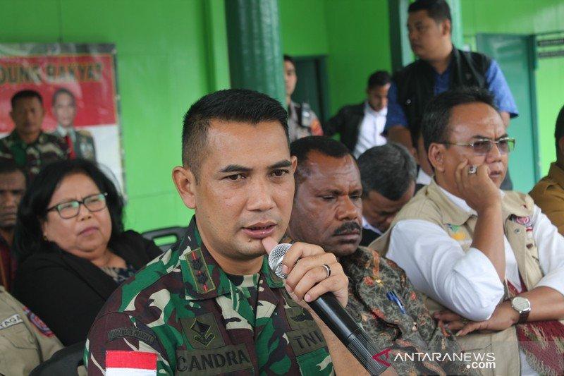Dandim Jayawijaya tutup 1 lorong komplek militer setelah ada positif corona