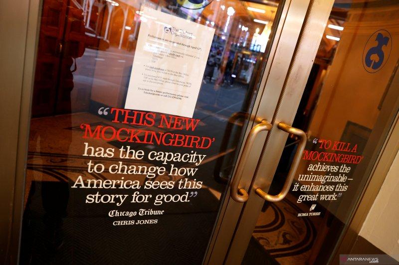 Broadway tutup setidaknya hingga September