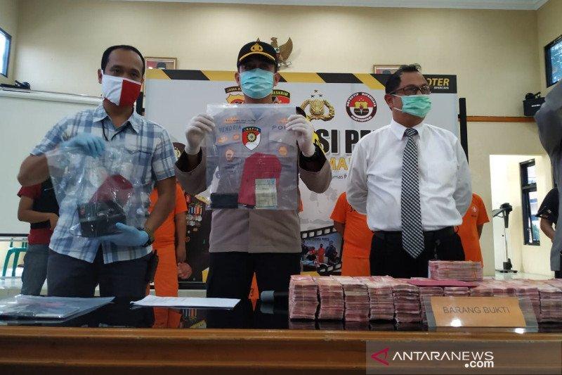 Polres Tasikmalaya gagalkan peredaran uang palsu pecahan Rp100 ribu