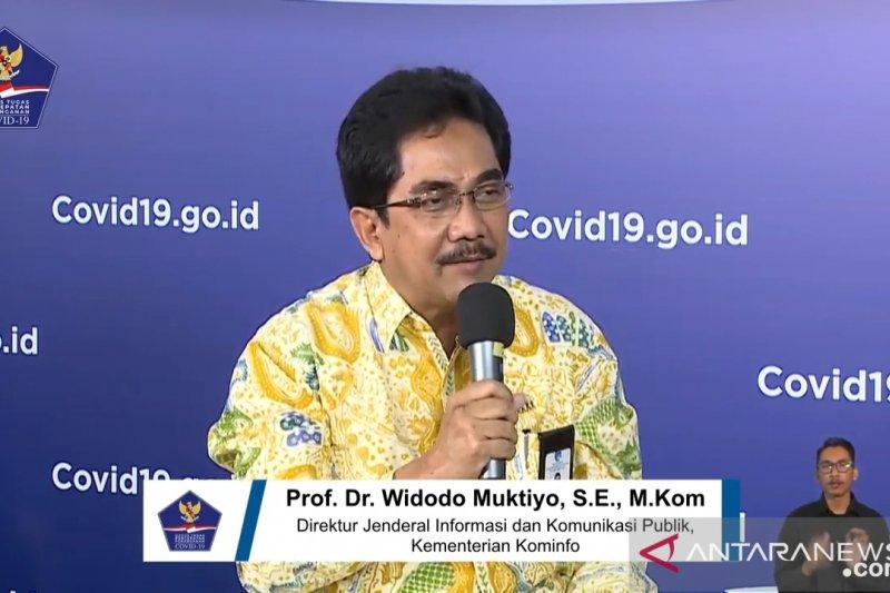 Kominfo: Masyarakat sudah mulai memahami kondisi pademi COVID-19