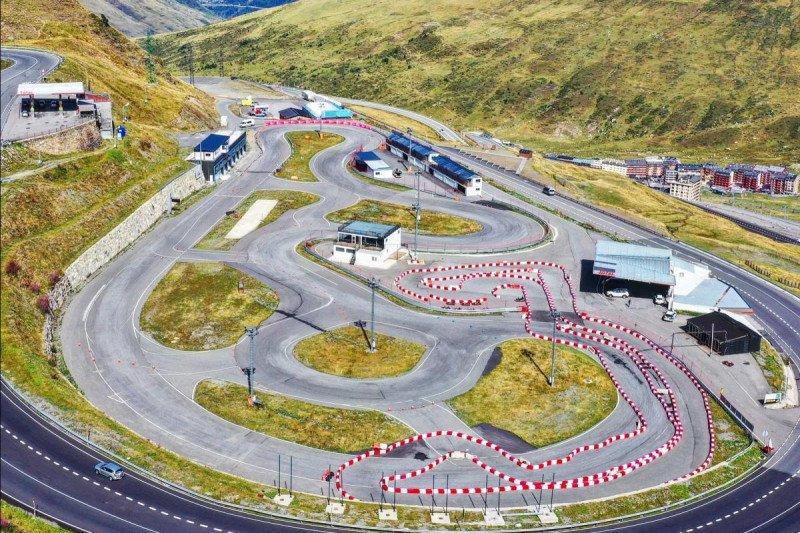 Trek karting  dibuka untuk latihan para pebalap MotoGP