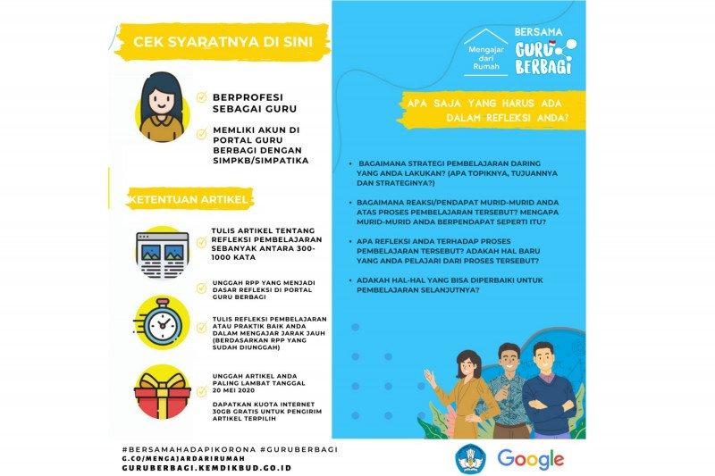 Kemdikbud dan Google sediakan internet gratis bagi guru