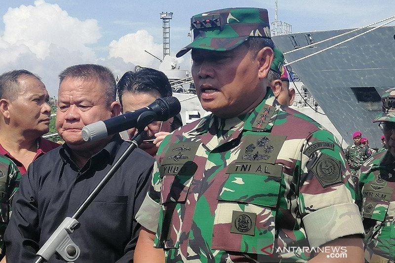 Presiden Jokowi lantik Laksamana TNI Yudo Margono sebagai KSAL