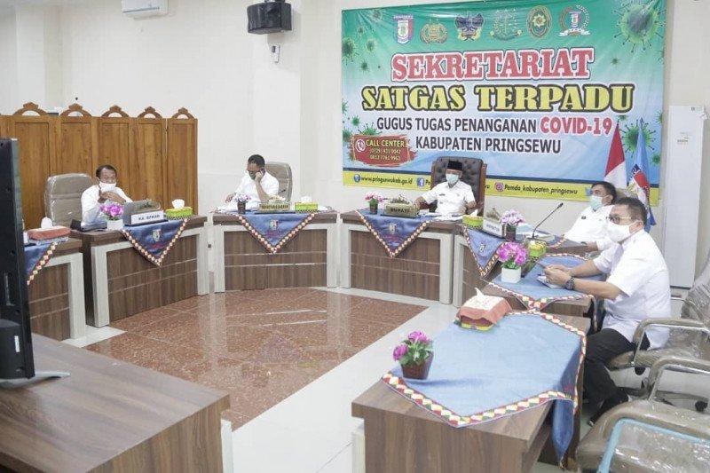 Pringsewu duduki peringkat Ke-3 di Lampung dalam capaian MCP-KPK