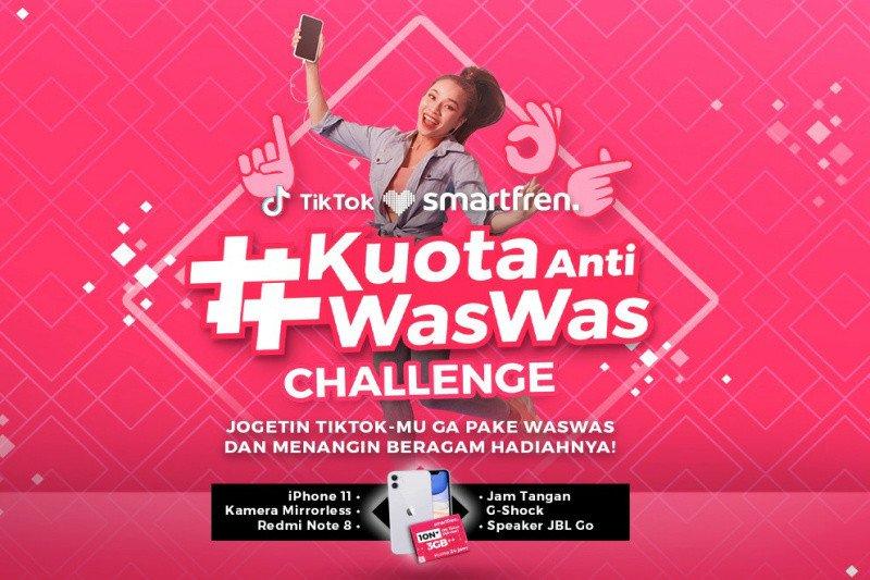 Ramadan bareng Smartfren, rebut hadiah jutaan rupiah di TikTok Challenge