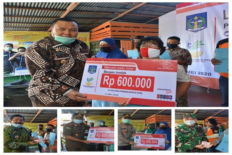 Kemensos  salurkan BST di Lampung Timur