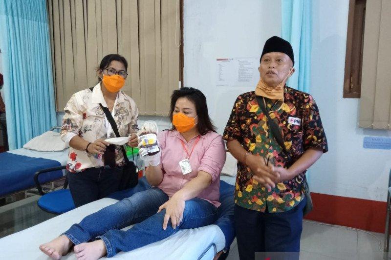 Ketua DPRD Kaltara donor darah mendadak di PMI Tarakan