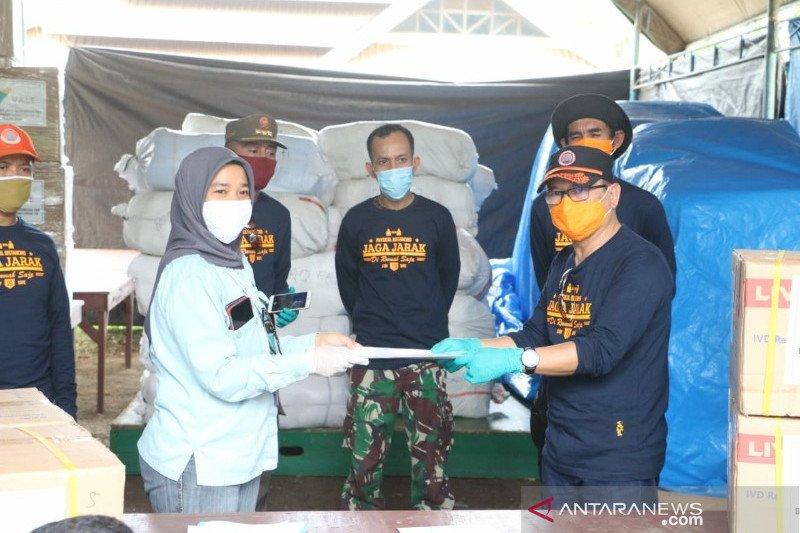 PT Vale sumbang 20.000 rapid test dan masker kepada Pemprov Sultra