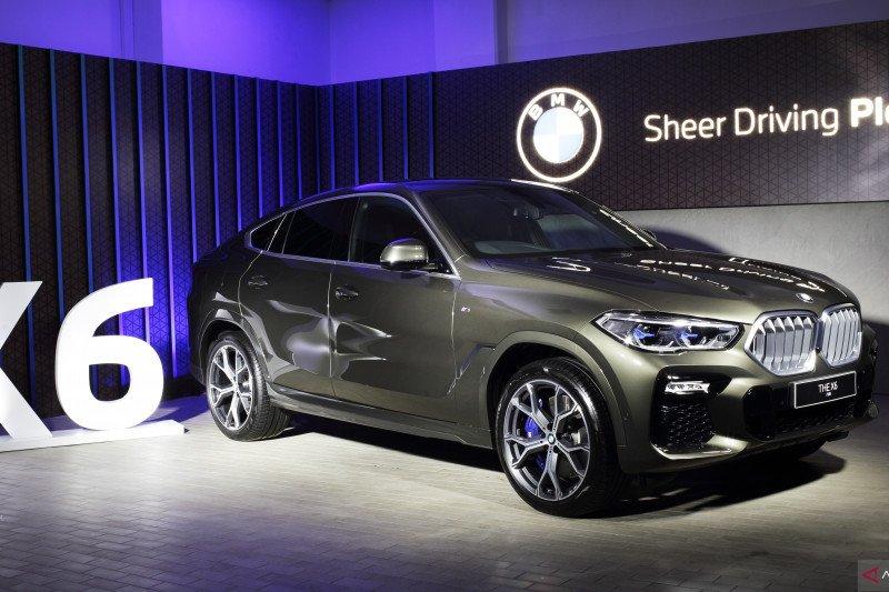 Mobil keluaran baru BMW X6 senilai Rp1,8 miliar, Indonesia hanya kebagian 10 unit