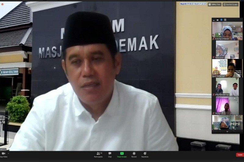 BPJAMSOSTEK Semarang Majapahit berbagi bantuan ke Panti Asuhan Cacat Ganda
