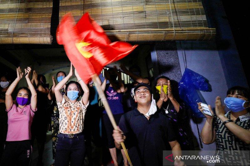 Pasien COVID-19 paling parah di Vietnam berangsur sembuh