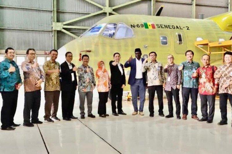 Senegal beli pesawat CN-235 buatan PTDI untuk ketiga kalinya