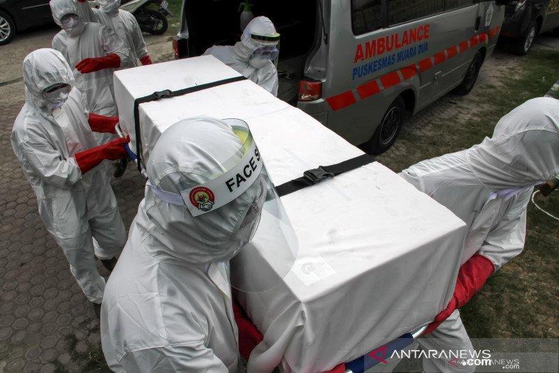 Positif COVID-19 meninggal di Sumsel bertambah dua orang, total jadi 13 orang