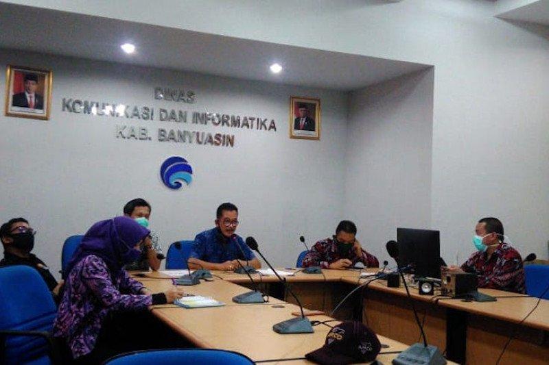 Diskominfo Banyuasin gandeng media lokal update informasi penanganan COVID-19