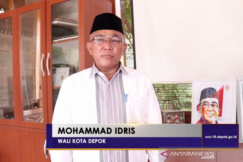 Wali Kota Depok minta warganya shalat Idul Fitri di rumah masing-masing
