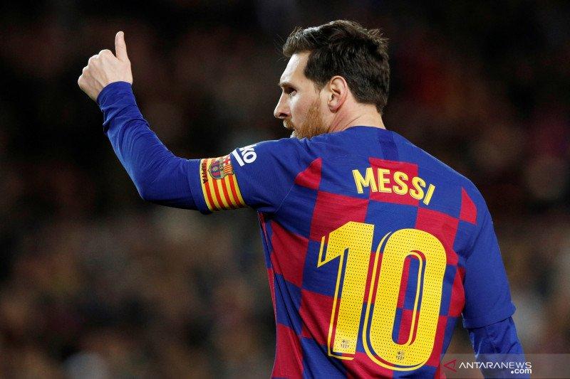 Lionel Messi: Pandemi virus corona menguntungkan Barcelona
