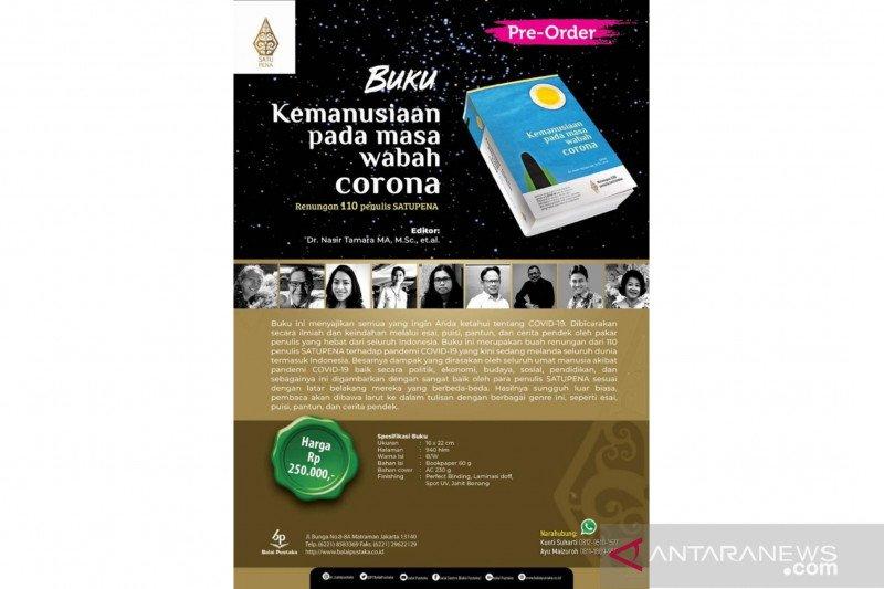 """110 penulis-Balai Pustaka menerbitkan buku """"Kemanusiaan pada Masa Corona"""""""