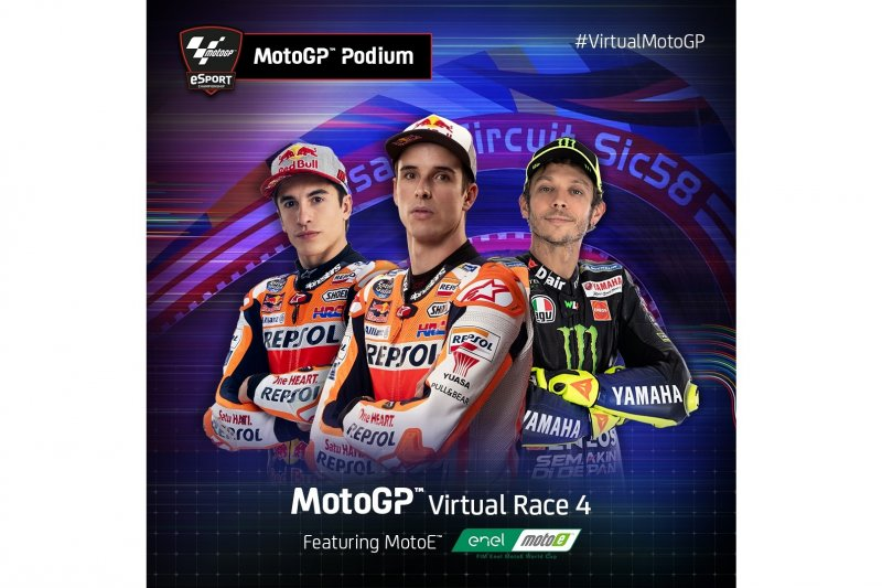 Alex Marquez menangi Grand Prix virtual di Misano