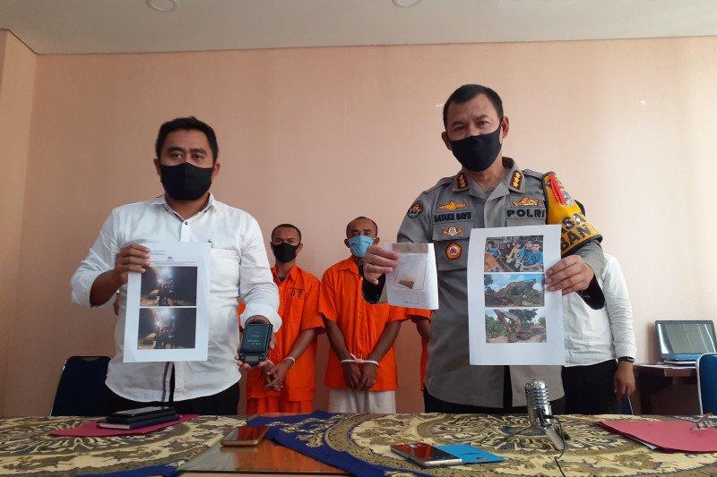 Tambang emas ilegal di Solok Selatan, tiga orang ditangkap di Pamong Gadang