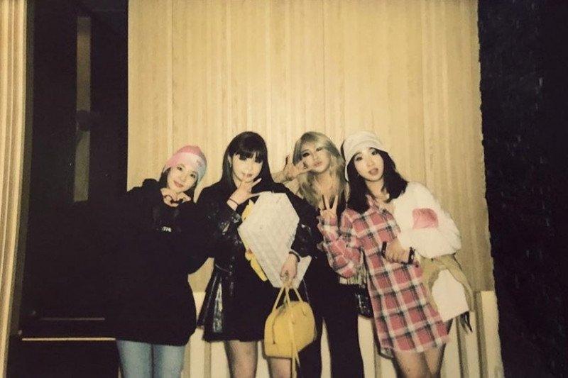 2NE1 reuni 'online' di hari jadi ke-11 tahun