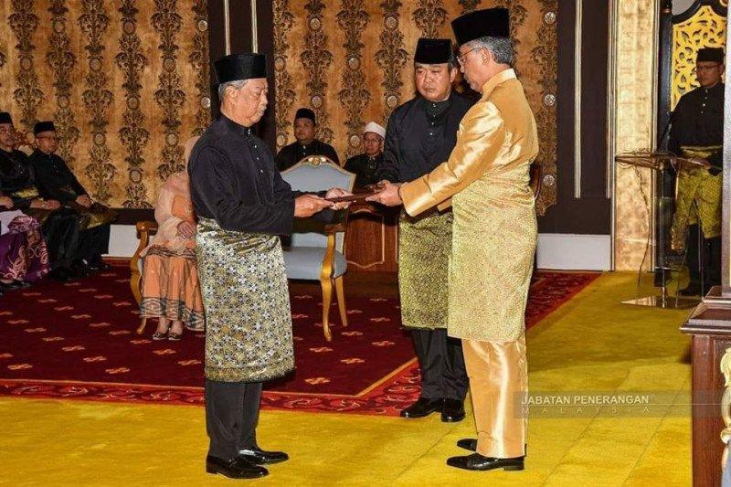 Raja Malaysia nyatakan Muhyiddin layak dilantik  sebagai perdana menteri, berikut alasannya