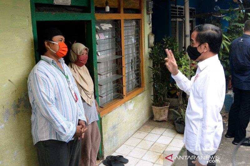 Presiden Jokowi minta 3,8 juta petani-nelayan masuk jaring pengaman sosial