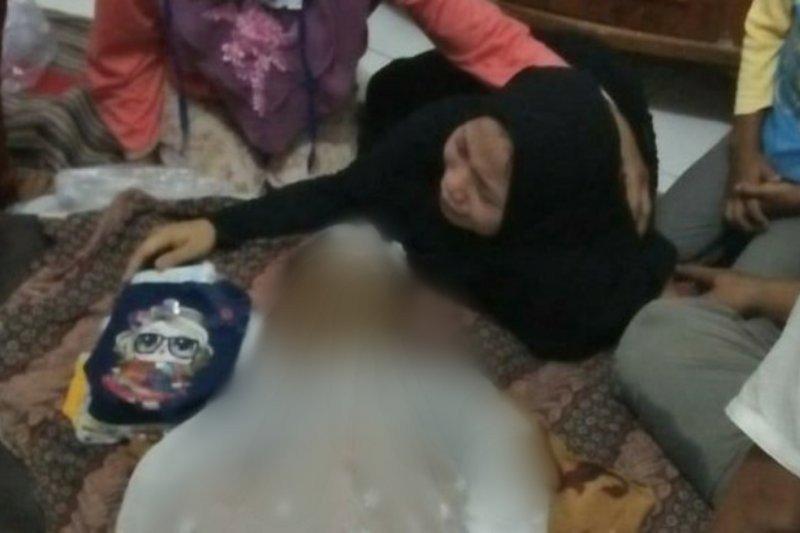 Disangka boneka, ternyata bocah 4 tahun meninggal hanyut di irigasi