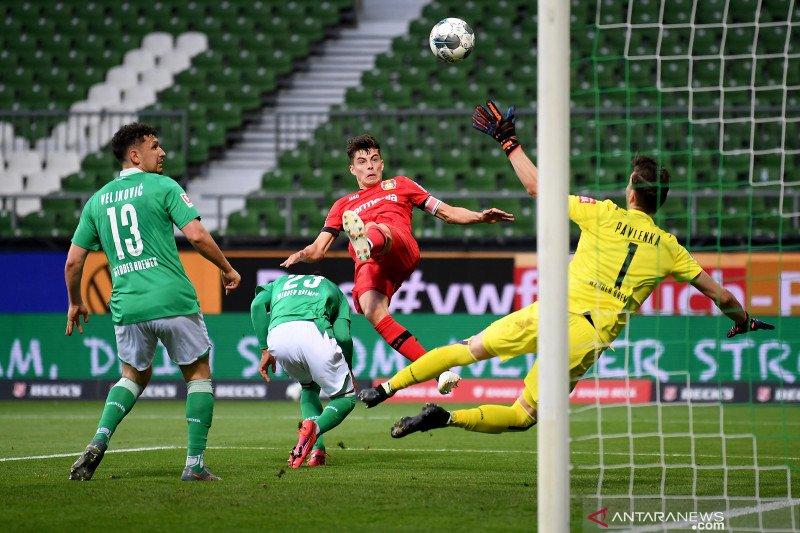 Leverkusen gilas Bremen 4-1