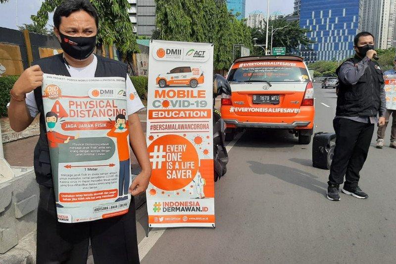ACT-DMII edukasi masyarakat lewat Mobile COVID-19 Education