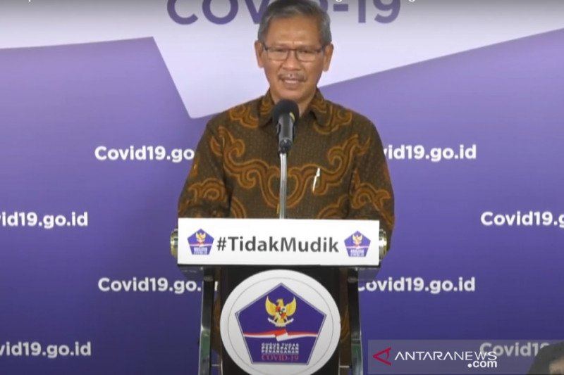Update COVID-19: Pasien sembuh di Tanah Air 4.467 orang dari 18.496 kasus positif